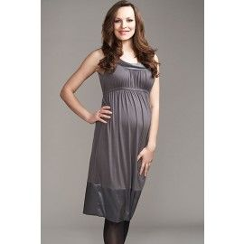 Maternal America Satin Border Dress on clearance for $39.95. Looks great for an evening out and has extremely soft fabric!