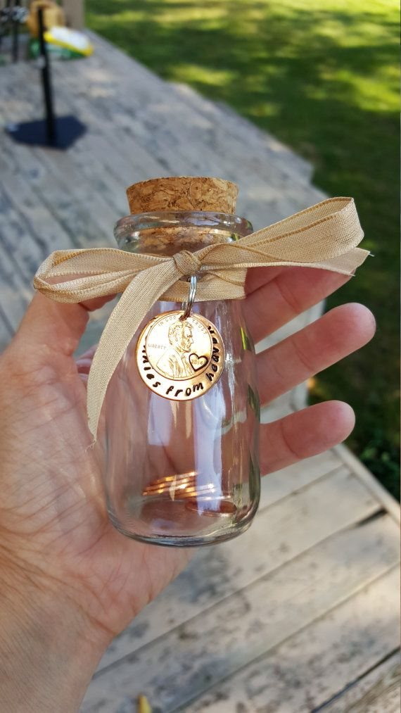 Pennies from heaven jar keepsake jar gift penny holder