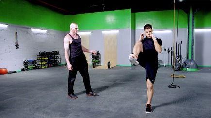 ムエタイ式両脚トレーニング