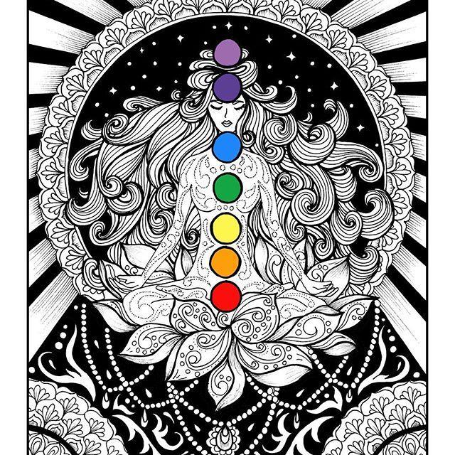 The body is your temple. Keep it pure and clean for the soul to reside in #internationalyogaday  . . . . #intrikateink #yogi #tattoo #chakras #meditation #yoga #doodle #zenart #zentangle #art #coloringbook #coloringforadults #mystaedtler #mandala #blvart #inkfeature #inkedartgroup #iblackwork  #mandalala #mandalaart #lineart #kundalini #hindu #tattoo #yogaday #india #artist #artwork #handmade