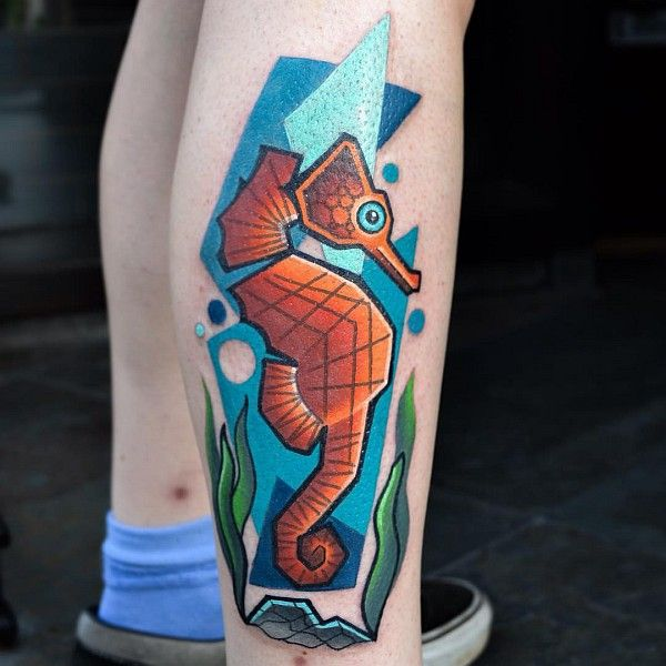 Les tatouages cubistes geek de Mike Boyd  2Tout2Rien