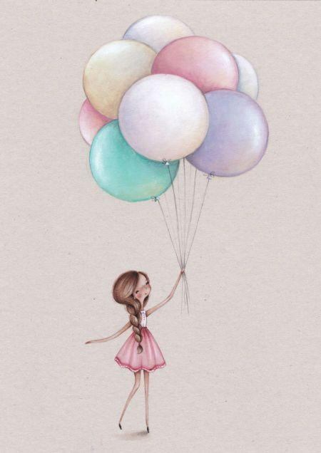 Alice Wong - Girl And Balloon