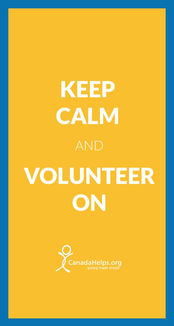 It's #NationalVolunteerWeek! How do you spend your time giving back?   #volunteer #CanadaHelps