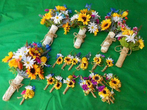best 20 wildflower bridal bouquets ideas on pinterest. Black Bedroom Furniture Sets. Home Design Ideas