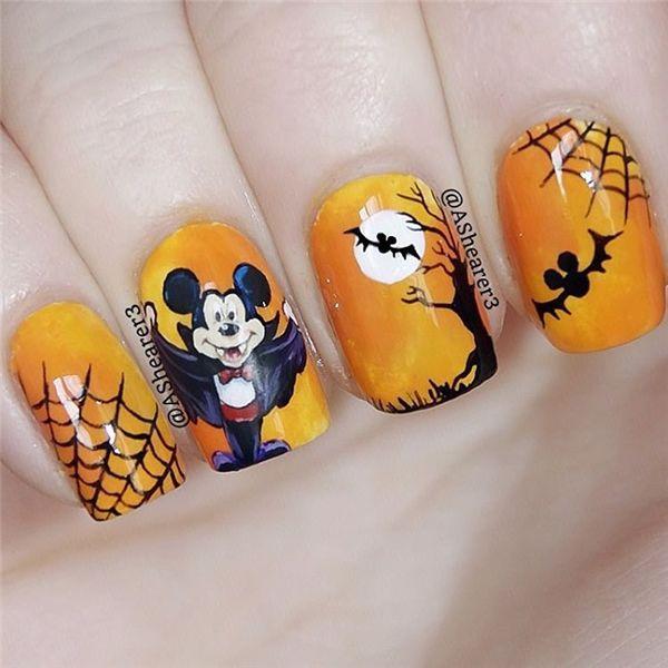 424 best nails images on pinterest nail design nail art and fall halloween nail art desgin ideas 12 prinsesfo Choice Image