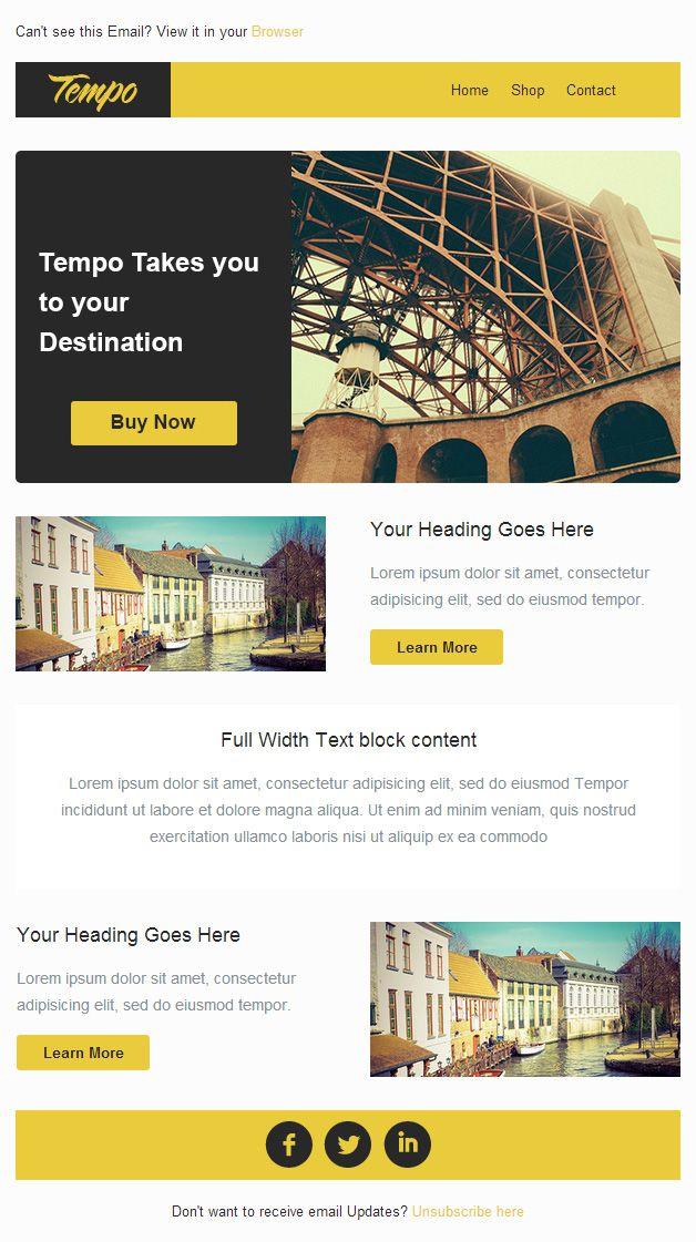 25+ ide terbaik tentang Free Email Templates di Pinterest Desain - follow up email template