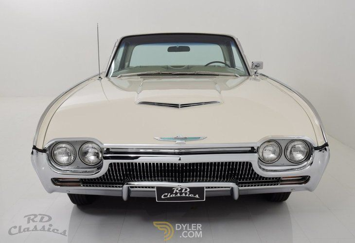1963 Ford Thunderbird 2D Hardtop, Used, Petrol, White, 2,503 km (1,555 miles), Automatic, Left-hand drive (LHD), Rear wheel drive (RWD)