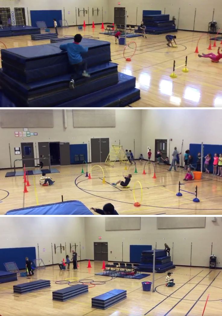 PE teacher Justin Wiese shares how to set up a Ninja Warrior obstacle course!