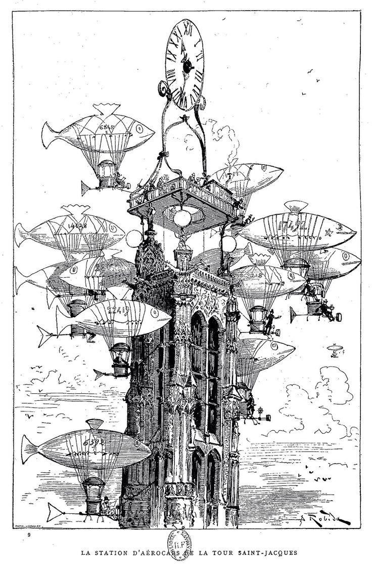 36 best Albert Robida & Hayao Miyazaki images on Pinterest