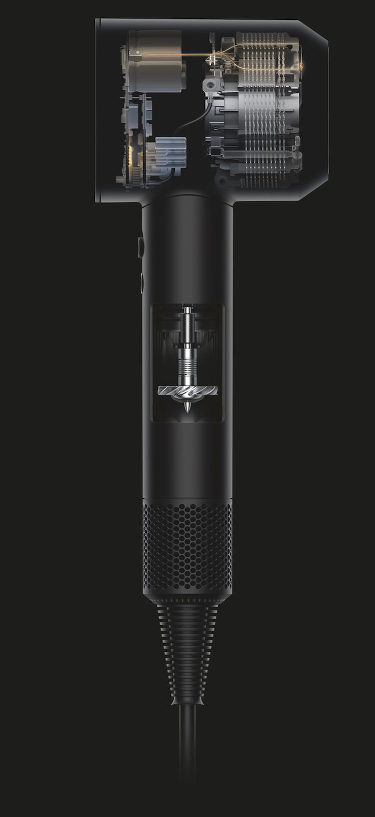 Designed with the user in mind. Dyson Hair Dryer. UX.