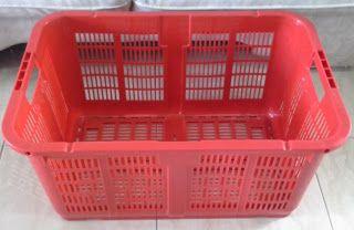 Selatan Jaya distributor barang plastik Surabaya: Keranjang plastik industri krat lubang Mk 002 merk...