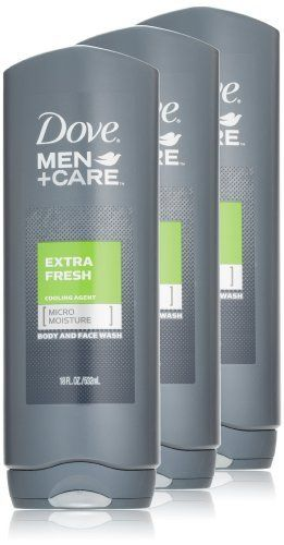 Dove Men + Care Body and Face Wash, Extra Fresh, 18 Ounce (Pack of 3) by Dove, http://www.amazon.com/dp/B002TSA91Q/ref=cm_sw_r_pi_dp_W3hPrb1ERHNGS