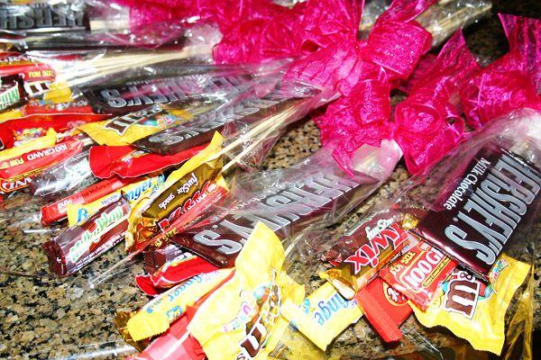 candy bouquets  yummmm