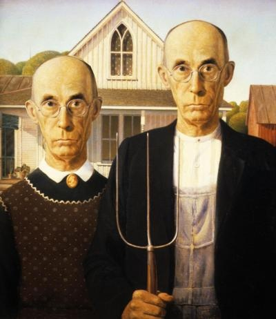 Gay marriage Grant Wood