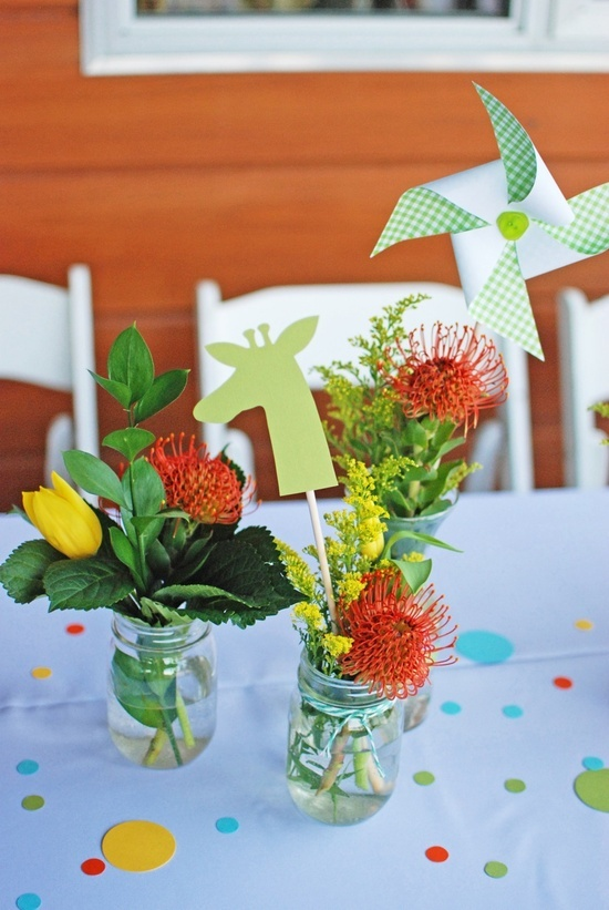 handmade baby shower table decorations party ideas pinterest