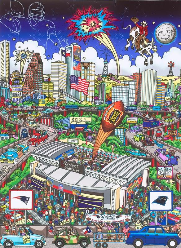 Super Bowl XXXVIII: Houston  New England Patriots
