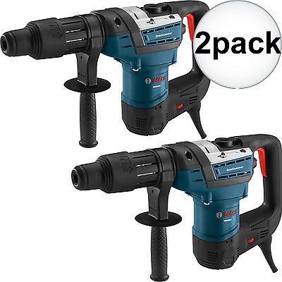 """2pk 1-9/16"""" SDS MAX Rotary Hammer Drill RECON Bosch Tools RH540M"""