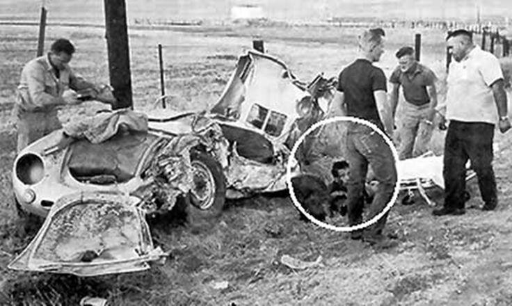 James Dean Car Crash, Death