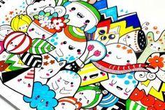 Cara Membuat Gambar Doodle Art Sedehana