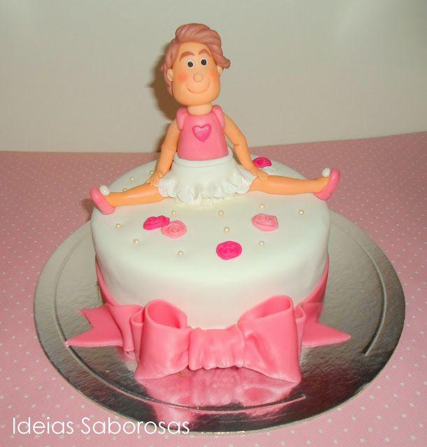 Bolo Ballet - Cake design