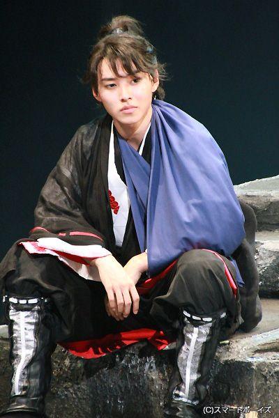 "Kento Yamazaki, stage ""Legend of the Eight Samurai"", 2014"