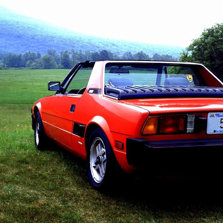 26 Best Images About Fiat/Bertone X1/9 On Pinterest