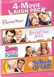 4-Movie Laugh Pack: Pillow Talk/Lover Come Back/Send Me No Flowers/The Thrill of It All! [DVD]