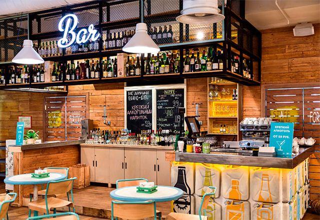 Obed Buffet – un restaurant design inspiré par la nature | Tables