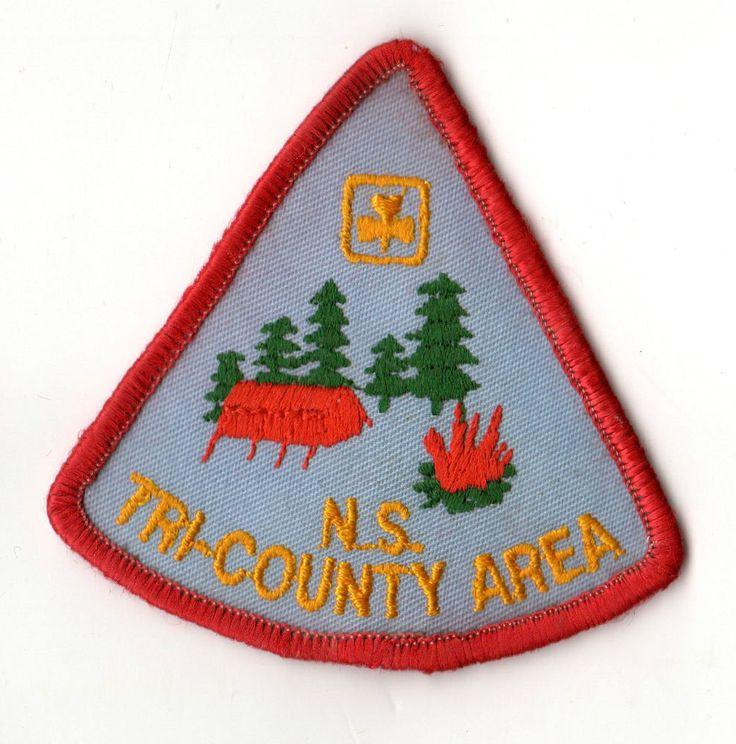 Girl Guides of Canada - Nova Scotia Tri-County Area Badge