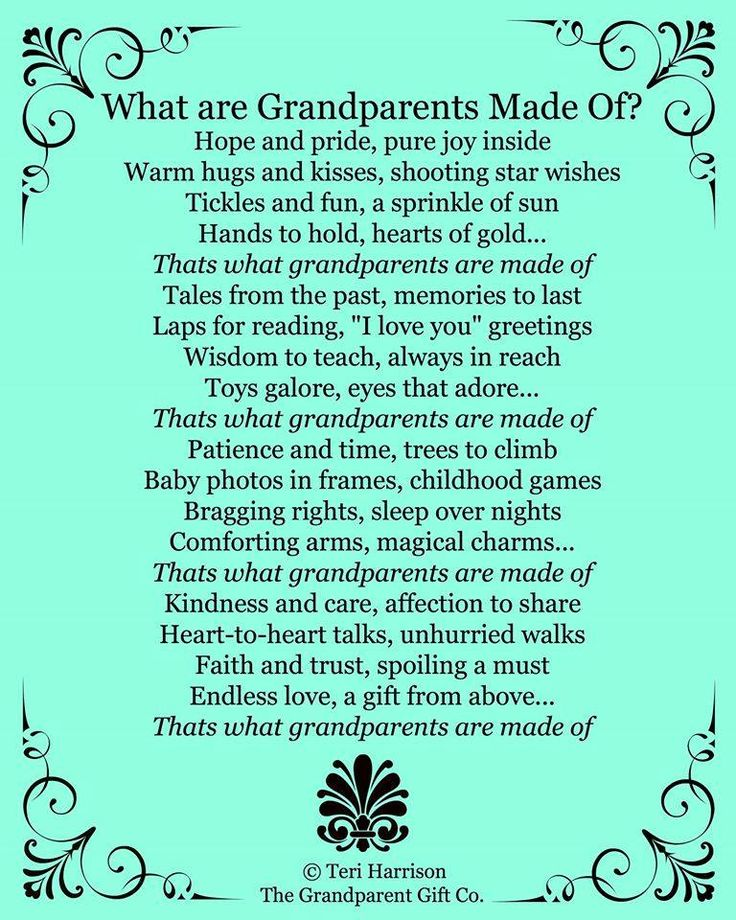 New Grandma and Grandpas- such an impact your will have!                                                                                                                                                      More                                                                                                                                                     More