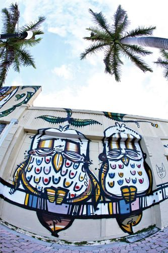 16 best boynton beach images on pinterest boynton beach for Downtown hollywood mural project