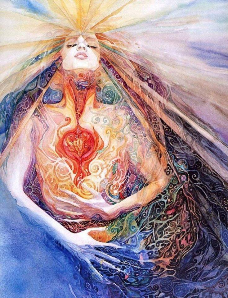 Женщина и энергия картинки