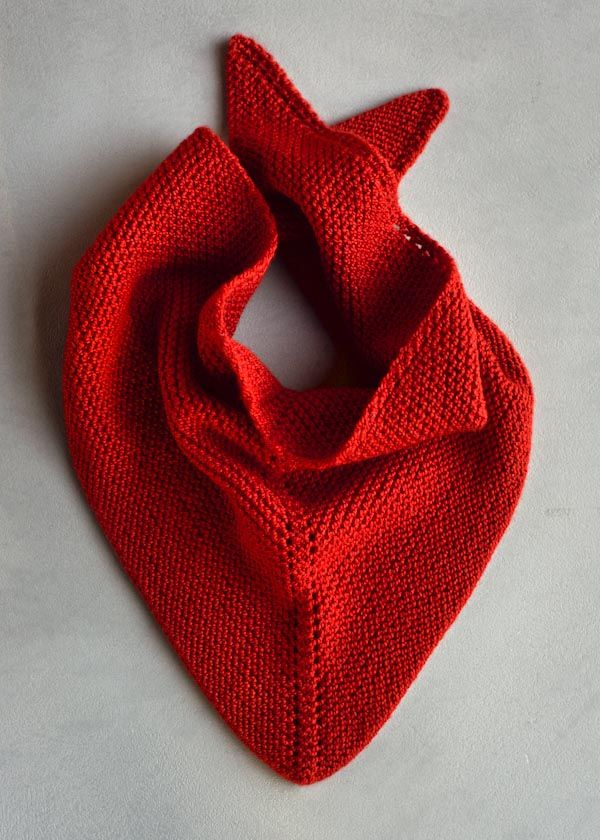 dovetail scarf : : purl bee