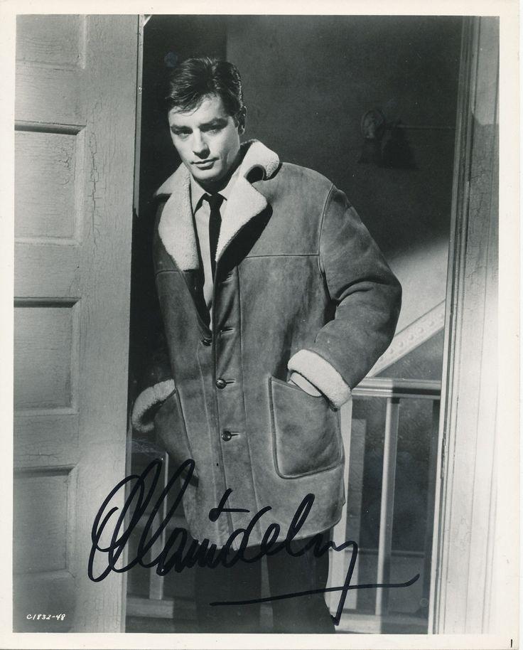 Alain Delon Autographed Signed Signature 8x10 Original Photo   eBay