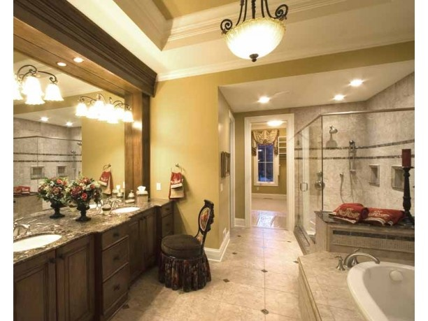 22 best images about cozy and huge bathrooms on pinterest for Huge master bathroom