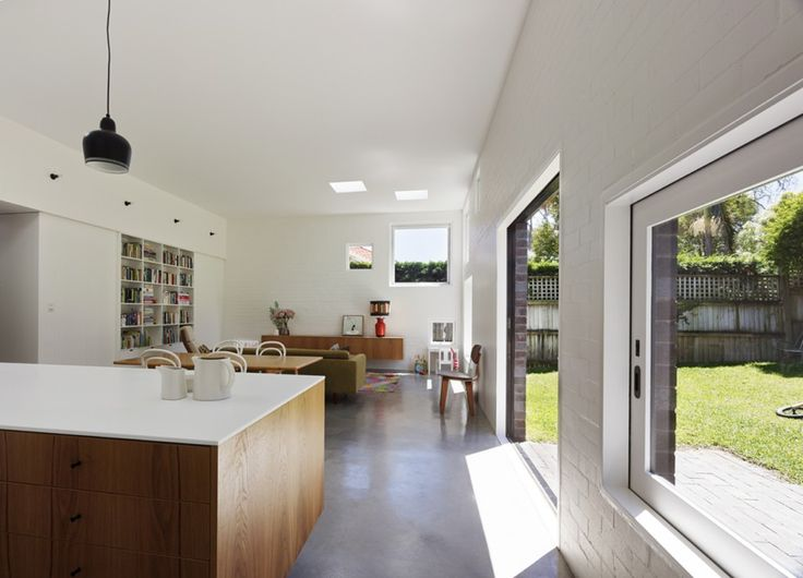 Great, low-cost (read, less glazing) extension on Cal bungalow. Nice work.