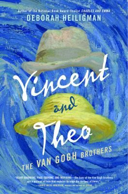 <2017 pin> Vincent and Theo: The Van Gogh Brothers by Deborah Heiligman. SUMMARY:  The deep and enduring friendship between Vincent and Theo Van Gogh shaped both brothers' lives. They shared everything, swapping stories of lovers and friends, successes and disappointments, dreams and ambitions. Heiligman draws on the letters Vincent wrote to Theo during his lifetime to weave a tale of two lives intertwined as Theo supported Vincent's struggles to find his path in life.