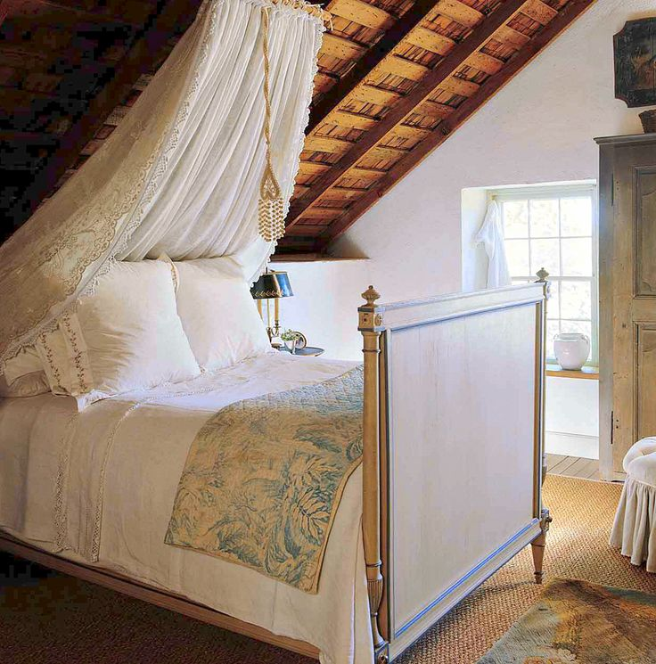 Who needs master bedrooms with attic rooms