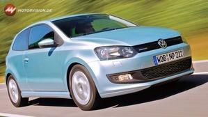 VW POLO - goldene TÜV Plakette 2013