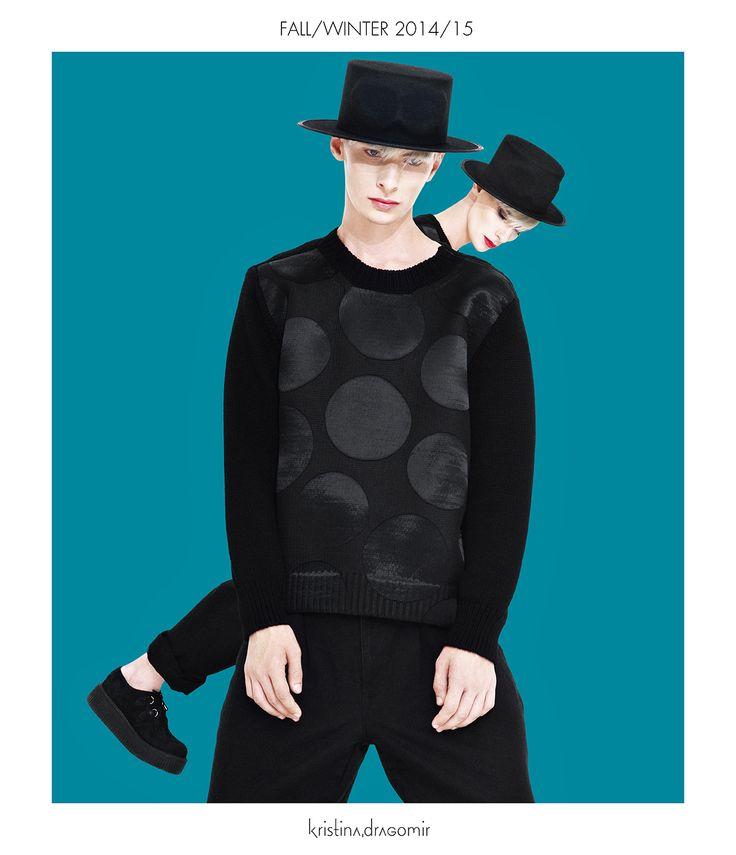 AW 14/15 Campaign! Visit my new online platform www.kristinadragomir.com  Artistic direction: Marian Pălie/Photo: Iulian Nan/Model: Ivan Claudiu Vlad/Mua: Alexandra Crăescu