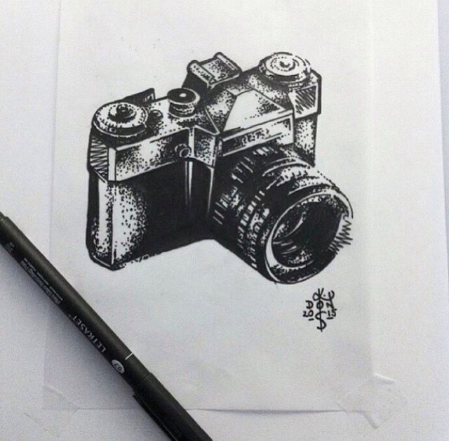 Would love this film camera tattoo one day!