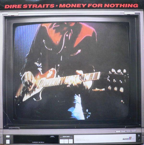 "September 21, 1985 - With the help Of heavy MTV exposure 'Money For Nothing' gave Dire Straits their first US No.1 single. The recording was notable for its controversial lyrics, groundbreaking music video and cameo appearance by Sting singing the song's falsetto introduction and backing chorus, ""I want my MTV."" The video was also the first to be aired on MTV Europe when the network started on 1 August 1987. •• #direstraits #thisdayinmusic #1980s"