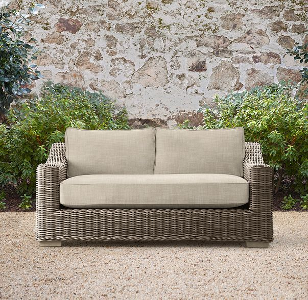 62 Provence Luxe Sofa Classic, Craigslist Restoration Hardware Outdoor Furniture