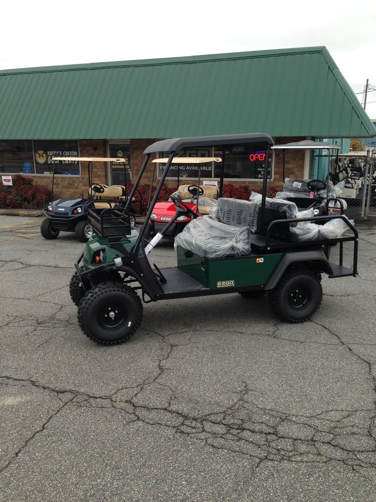 34 best images about ezgo golf carts on pinterest rear for Narrow golf cart