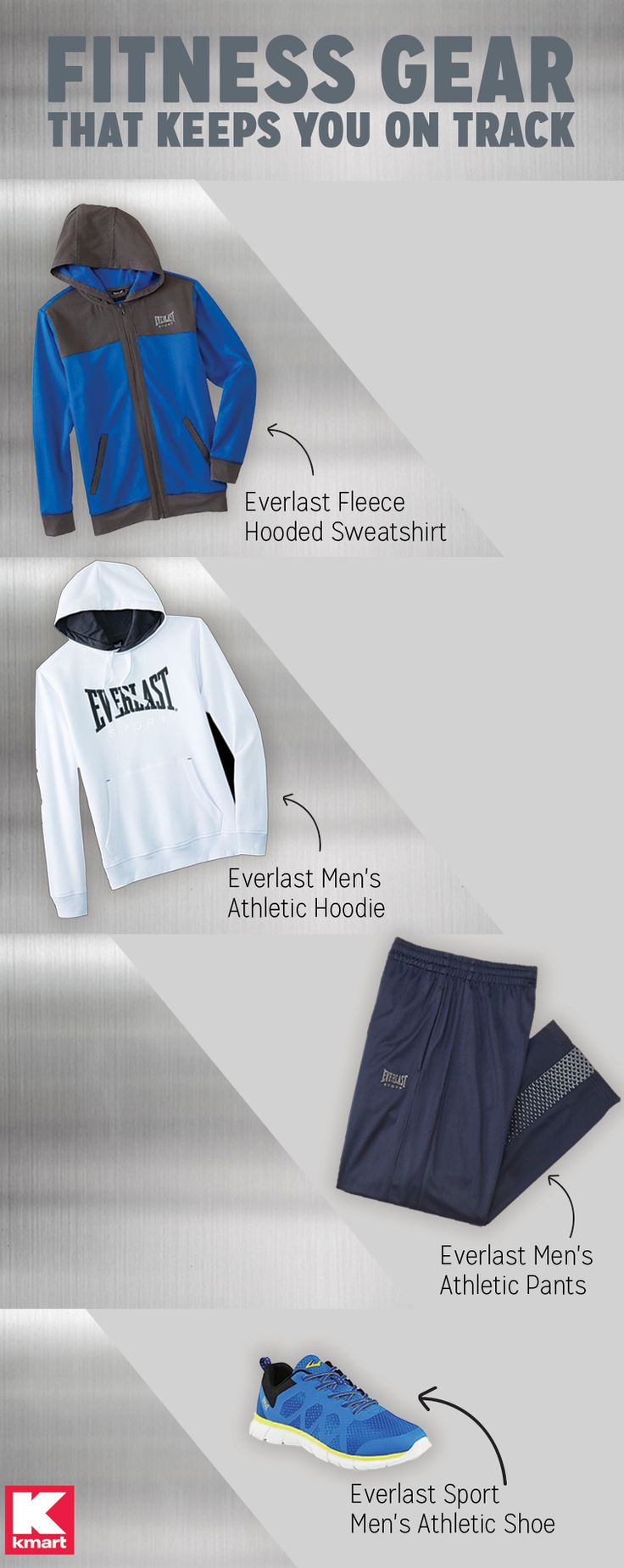 Discover kmart s variety of activewear picks for even the hard to shop for members from everlast comfy sweatshirts