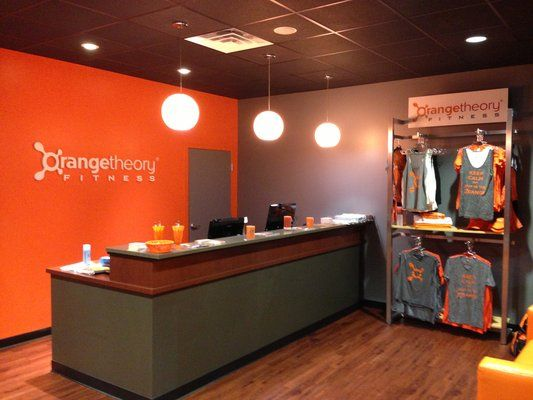 Orangetheory Front Desk Studio Inspiration Gym Design