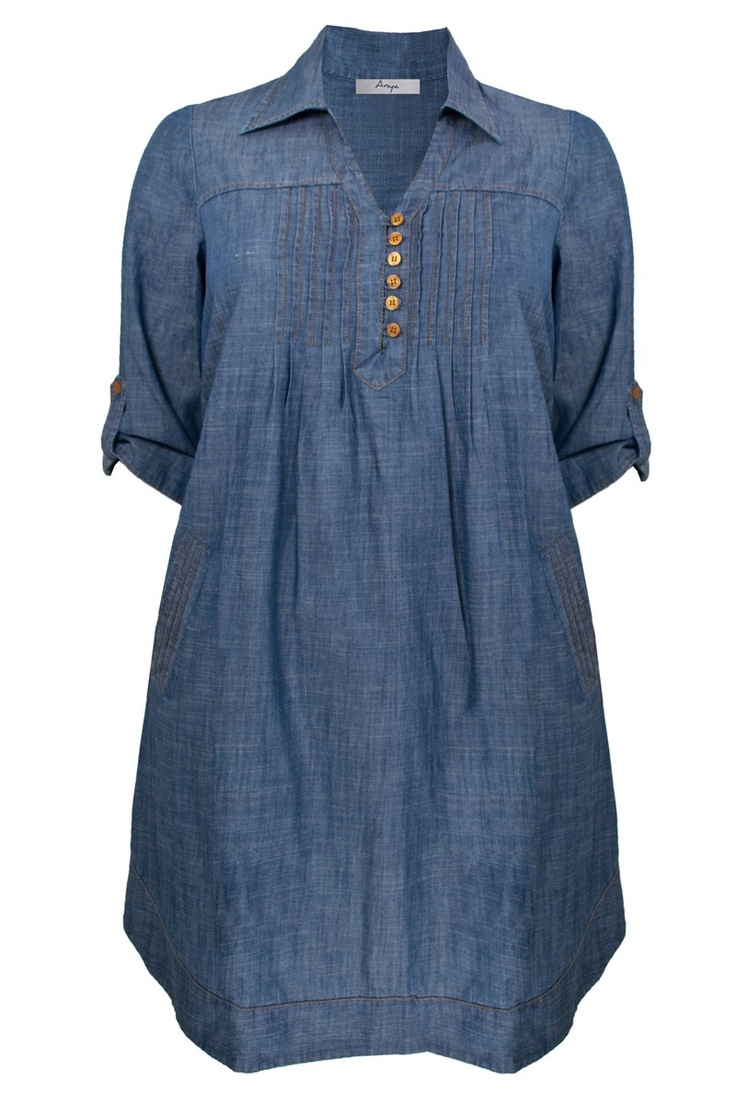 Longline Denim Tunic.