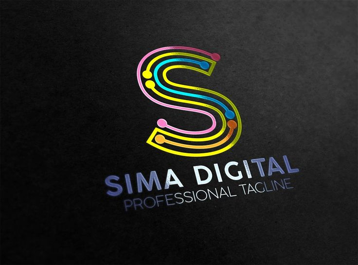 Letter S Digital Logo by essegraphic on Creative M…