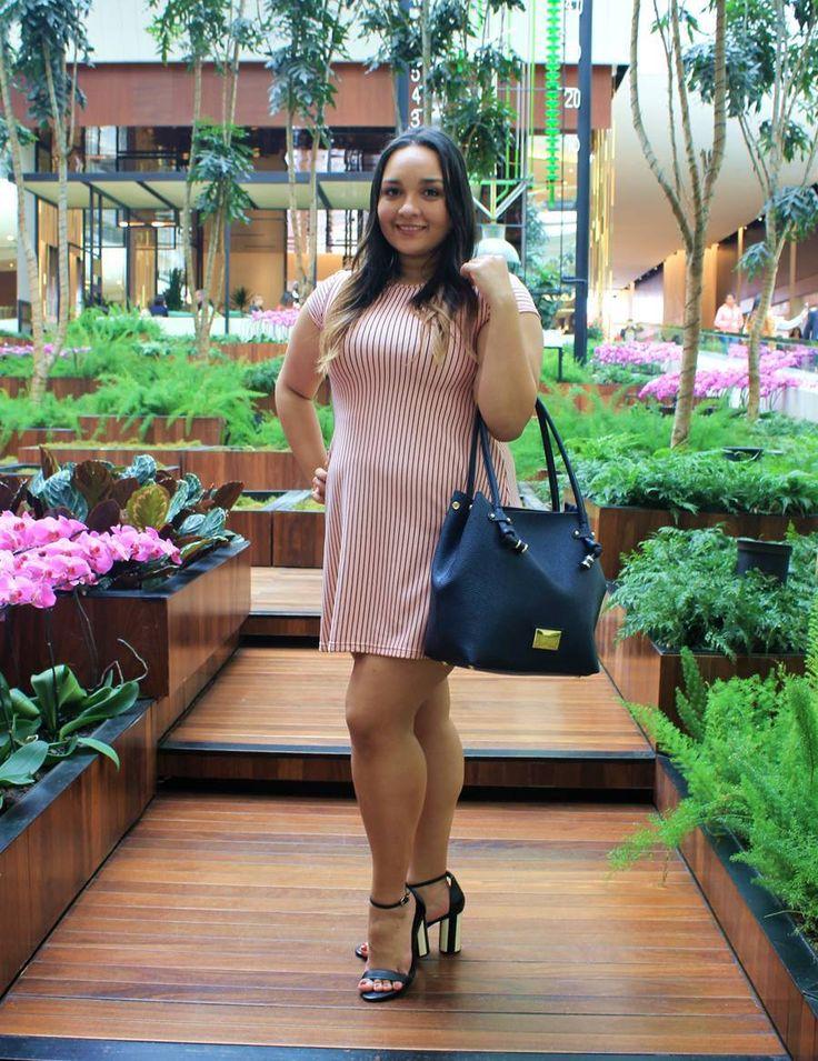 Look do Dia: Vestido Rosinha - Carol Doria, dress, pink millennial, rosa, outfit of the day, look do dia, look para o dia a dia, by clo, look para o verão