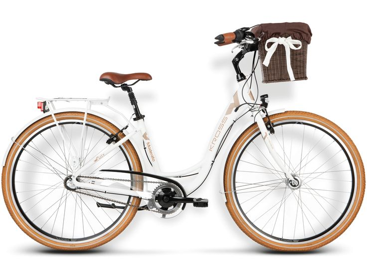 Rower Kross MODERATO biały 2016 + BONUS